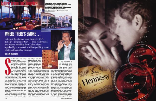 Article Preview: WHERE THERE'S SMOKE.., March 1996 | Vanity Fair