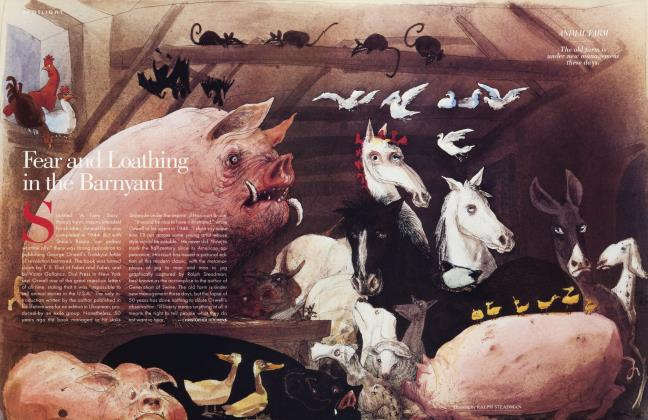Article Preview: Fear and Loathing in the Barnyard, March 1996 1996 | Vanity Fair
