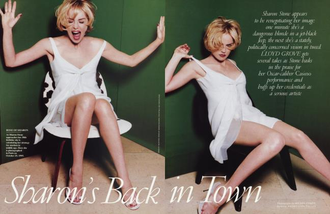 Article Preview: Sharon's Back in Town, March 1996 1996 | Vanity Fair