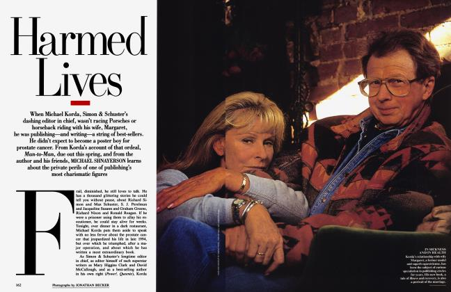 Article Preview: Harmed Lives, March 1996 | Vanity Fair