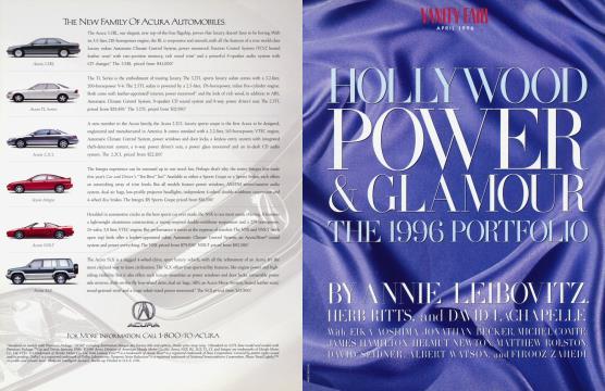 HOLLYWOOD POWER & GLAMOUR THE 1996 PORTFOLIO - April   Vanity Fair
