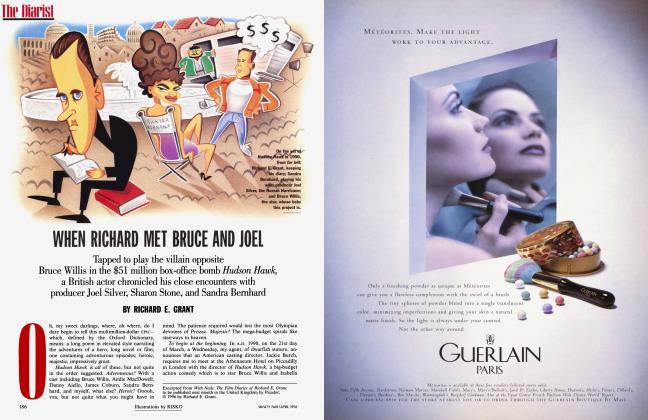 Article Preview: WHEN RICHARD MET BRUCE AND JOEL, April 1996 1996   Vanity Fair