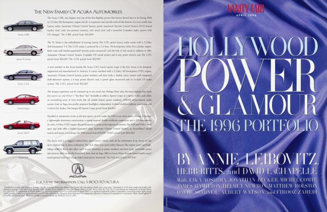 Article Preview: HOLLYWOOD POWER & GLAMOUR THE 1996 PORTFOLIO, April 1996 1996 | Vanity Fair