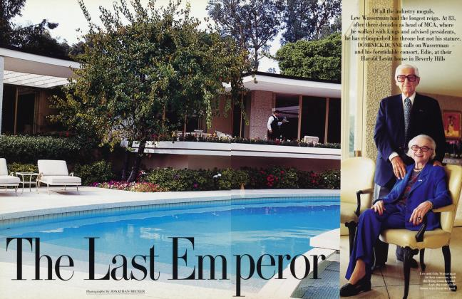 Article Preview: The Last Emperor, April 1996 1996 | Vanity Fair