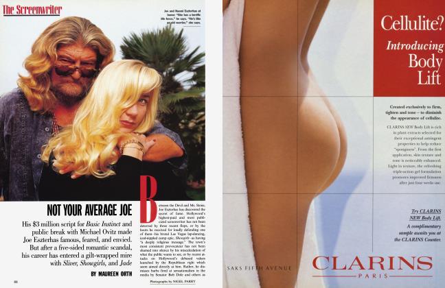 Article Preview: NOT YOUR AVERAGE JOE, April 1996 | Vanity Fair
