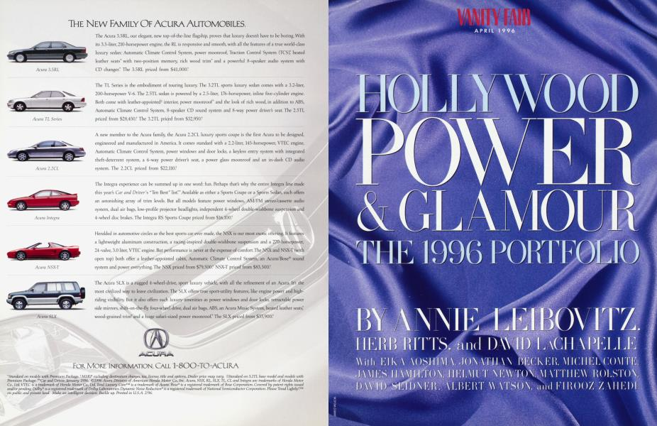 HOLLYWOOD POWER & GLAMOUR THE 1996 PORTFOLIO