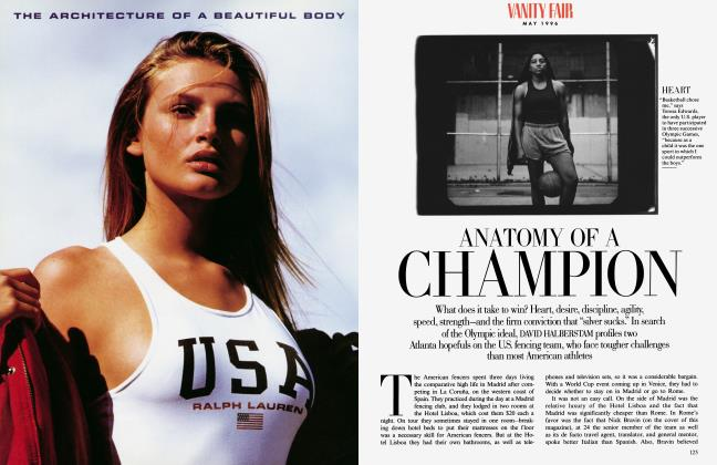 Article Preview: ANATOMY OF A CHAMPION, May 1996 | Vanity Fair