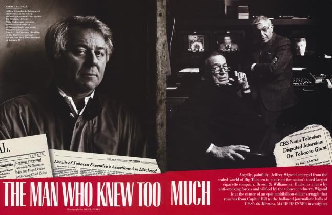 Article Preview: THE MAN WHO KNEW TOO MUCH, May 1996 1996 | Vanity Fair