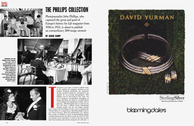 Article Preview: THE PHILLIPS COLLECTION, June 1996 1996 | Vanity Fair