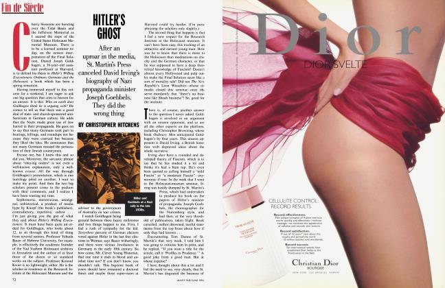 Article Preview: HITLER'S GHOST, June 1996 1996   Vanity Fair