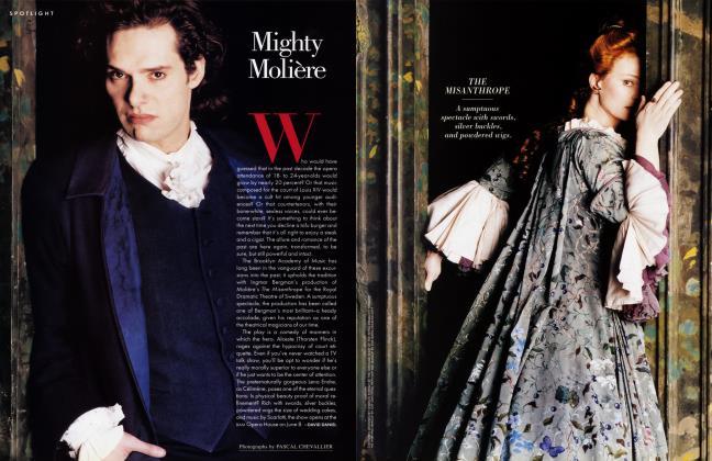 Article Preview: Mighty Molière, June 1996 1996 | Vanity Fair