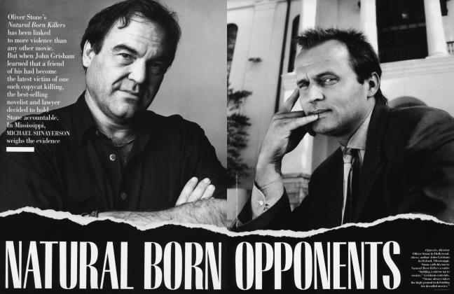 Article Preview: NATURAL BORN OPPONENTS, July 1996 1996 | Vanity Fair