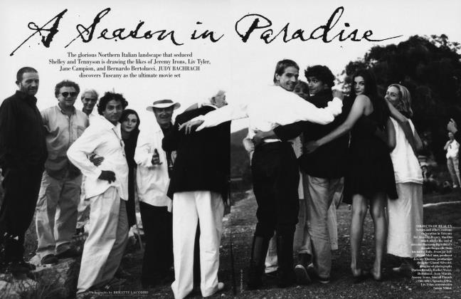 Article Preview: A Season in Paradise, July 1996 1996 | Vanity Fair