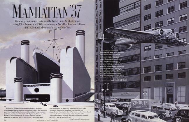 Article Preview: MANHATTAN'37, July 1996 1996 | Vanity Fair