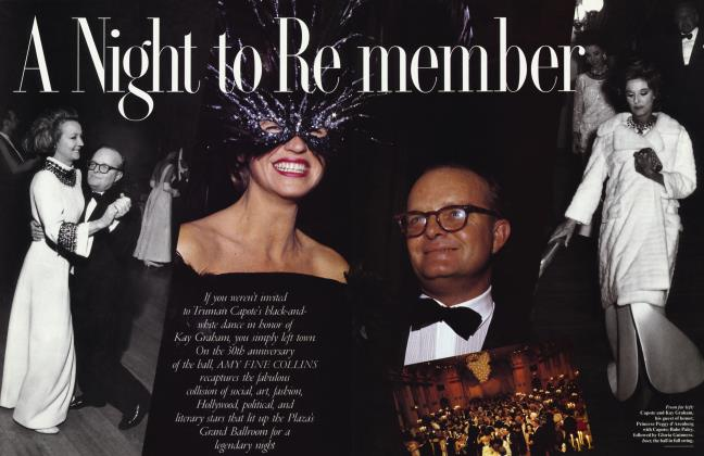 Article Preview: A Night to Remember, July 1996 | Vanity Fair