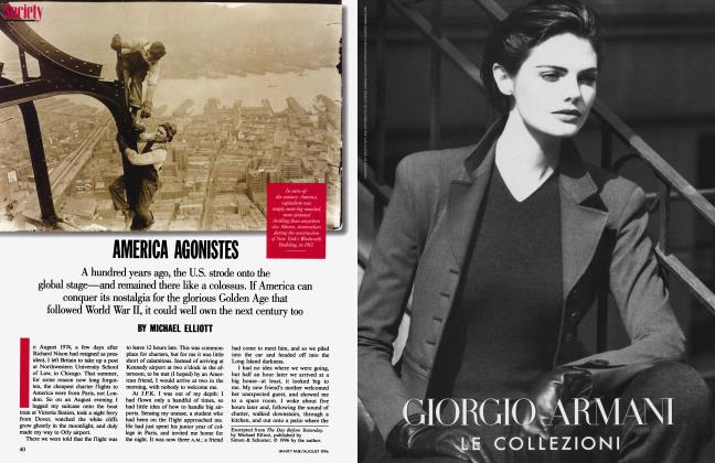 Article Preview: AMERICA AGONISTES, August 1996 | Vanity Fair