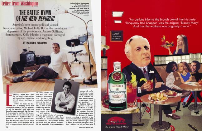Article Preview: THE BATTLE HYMN OF THE NEW REPUBLIC, August 1996 | Vanity Fair