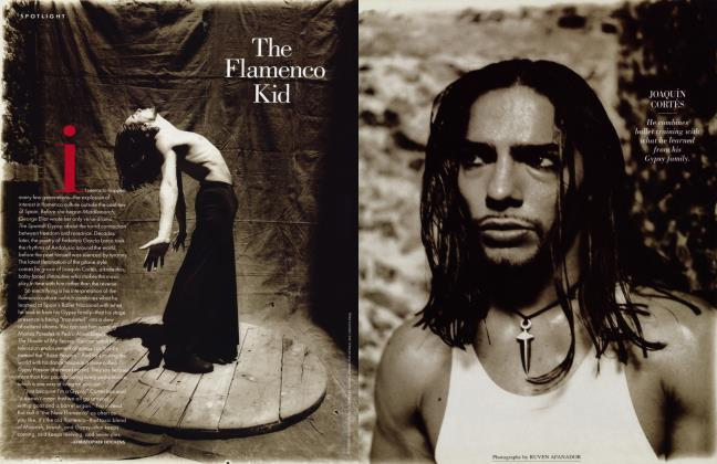 Article Preview: The Flamenco Kid, August 1996 1996 | Vanity Fair