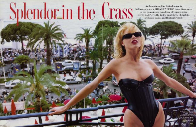 Article Preview: Splendor in the Crass, August 1996 1996 | Vanity Fair