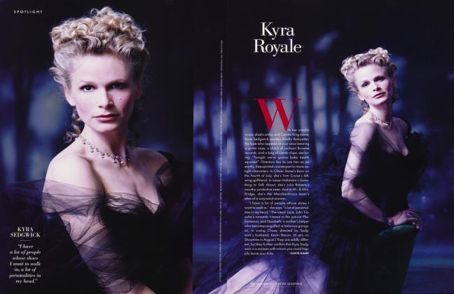 Article Preview: Kyra Royale, August 1996 1996 | Vanity Fair