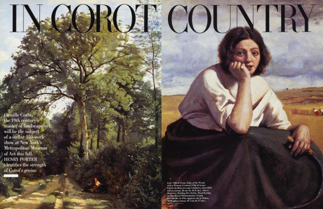 Article Preview: IN COROT COUNTRY, August 1996 1996 | Vanity Fair