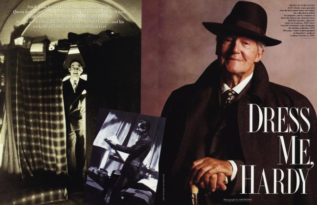 Article Preview: DRESS ME, HARDY, August 1996 | Vanity Fair
