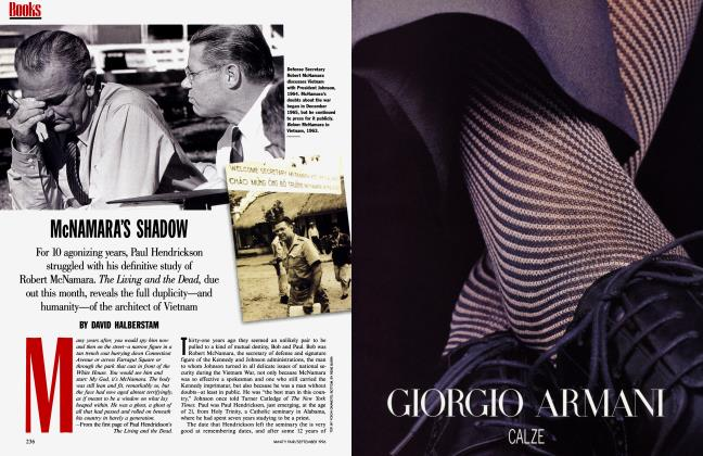 Article Preview: McNAMARA'S SHADOW, September 1996 | Vanity Fair