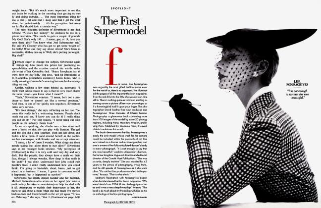 Article Preview: The First Supermodel, September 1996 1996 | Vanity Fair