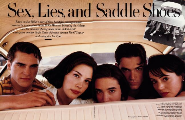 Article Preview: Sex, Lies, and Saddles Shoes, September 1996 1996 | Vanity Fair
