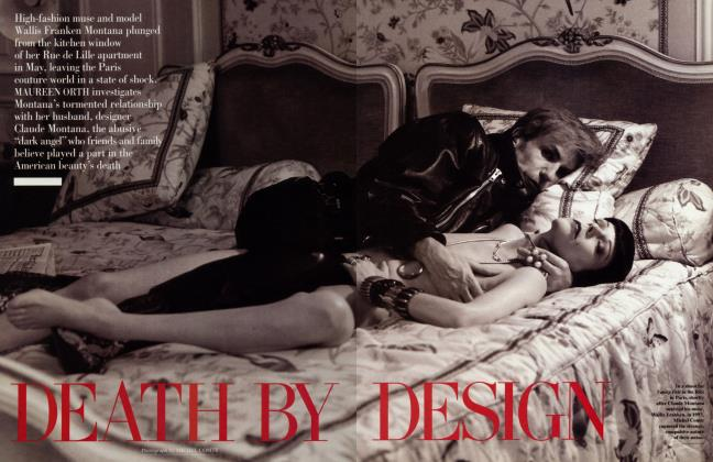Article Preview: DEATH BY DESIGN, September 1996 | Vanity Fair