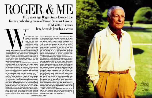 Article Preview: ROGER & ME, September 1996 1996 | Vanity Fair