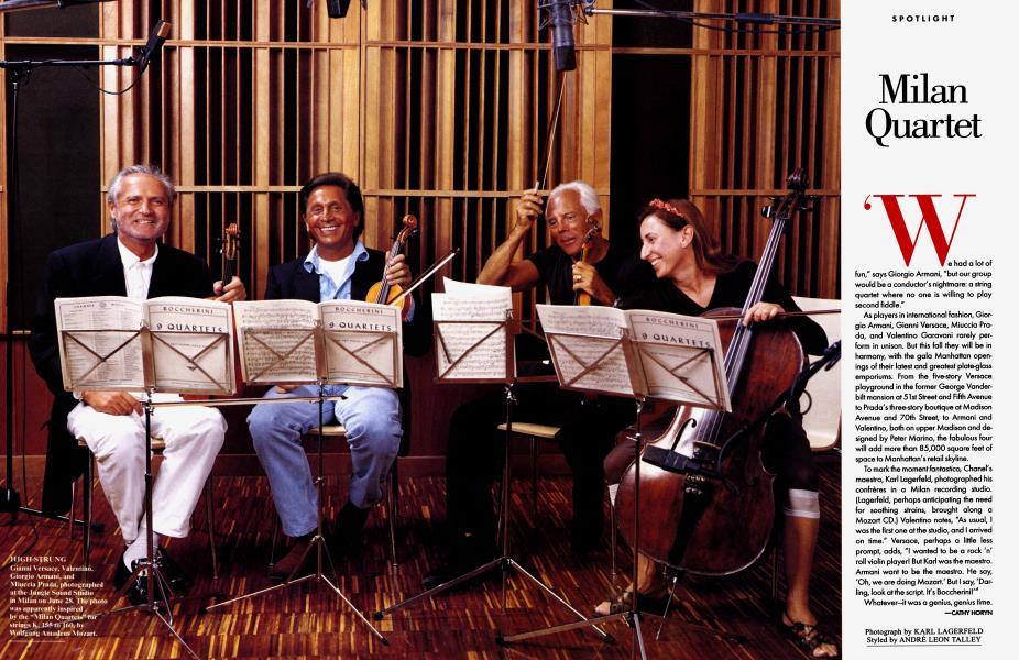 Milan Quartet