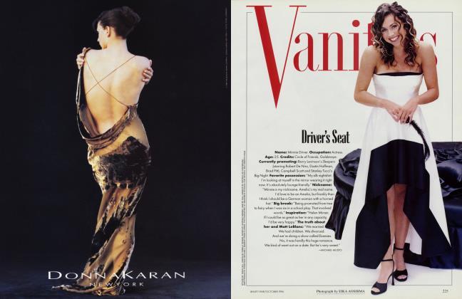 Article Preview: Driver's Seat, October 1996 1996 | Vanity Fair