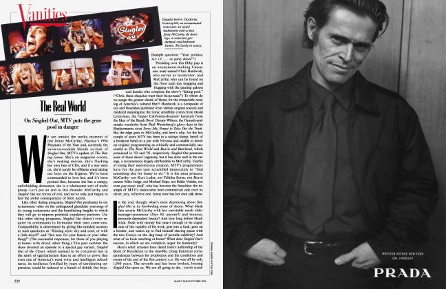 Article Preview: The Real Word, October 1996 1996 | Vanity Fair