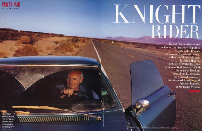 Article Preview: KNIGHT RIDER, October 1996 1996 | Vanity Fair