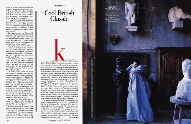 Article Preview: Cool British Classic, October 1996 1996 | Vanity Fair