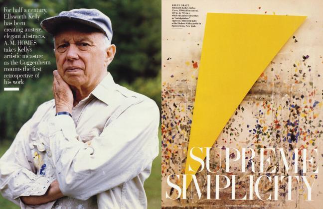 Article Preview: SUPREME SIMPLICITY, October 1996 1996 | Vanity Fair