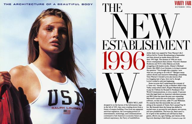 Article Preview: THE NEW ESTABLISHMENT 1996, October 1996 1996 | Vanity Fair