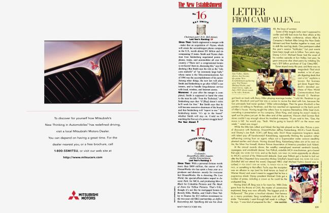 Article Preview: LETTER FROM CAMP ALLEN..., October 1996 1996 | Vanity Fair