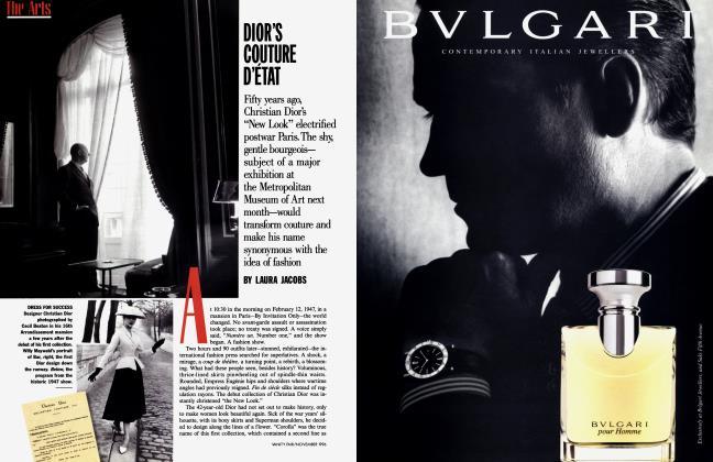 Article Preview: DIOR'S COUTURE D'ETAT, November 1996 1996   Vanity Fair