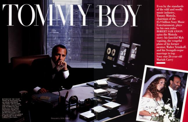 Article Preview: TOMMY BOY, December 1996 1996 | Vanity Fair