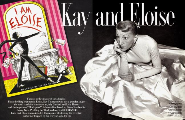 Article Preview: Kay and Eloise, December 1996 1996 | Vanity Fair