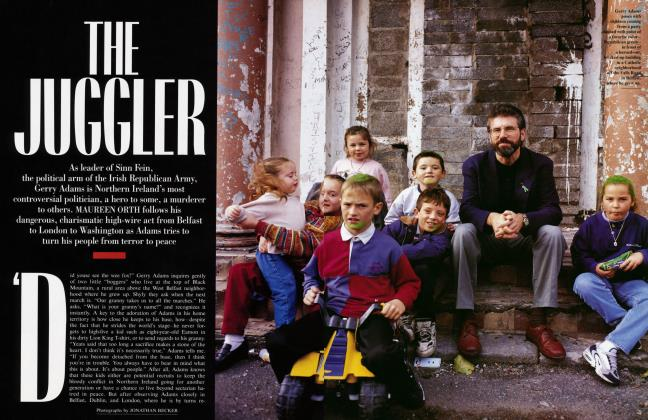 Article Preview: THE JUGGLER, January 1997 1997 | Vanity Fair