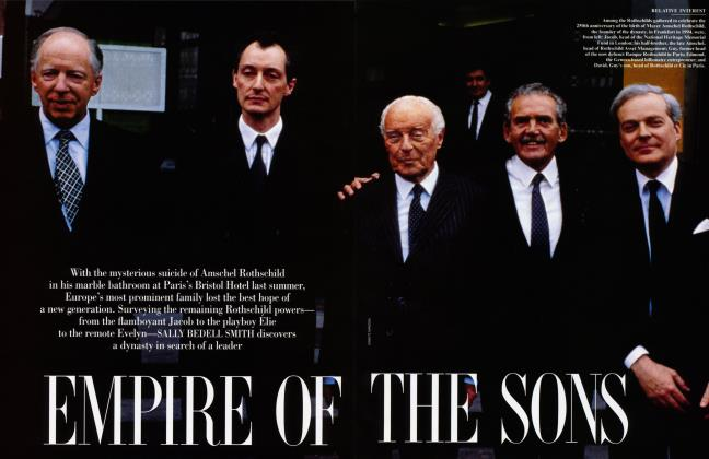 Article Preview: EMPIRE OF THE SONS, January 1997 1997 | Vanity Fair