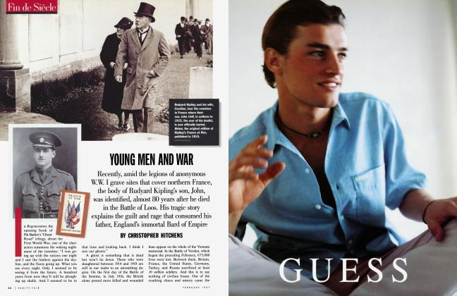Article Preview: YOUNG MEN AND WAR, February 1997 | Vanity Fair