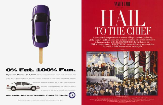 Article Preview: HAIL TO THE CHIEF, February 1997 1997 | Vanity Fair