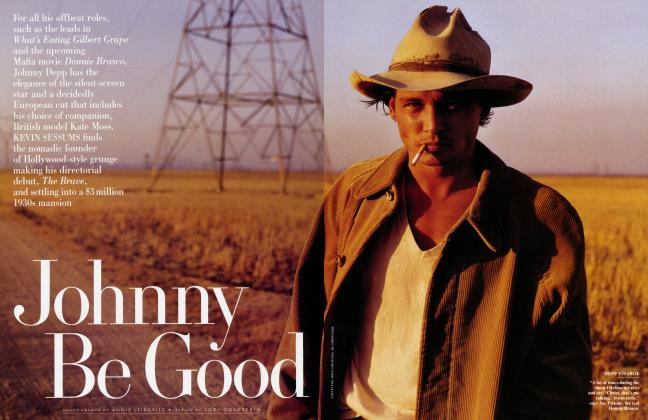 Article Preview: Johnny Be Good, February 1997 | Vanity Fair
