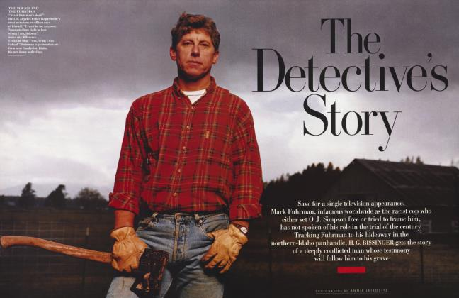 Article Preview: The Detective's Story, February 1997 | Vanity Fair