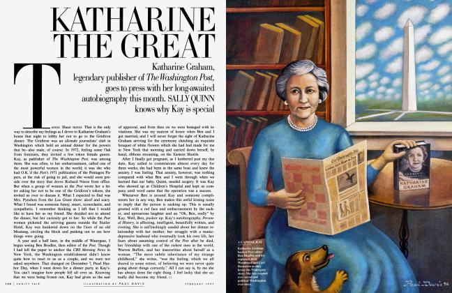 Article Preview: KATHARINE THE GREAT, February 1997 1997 | Vanity Fair