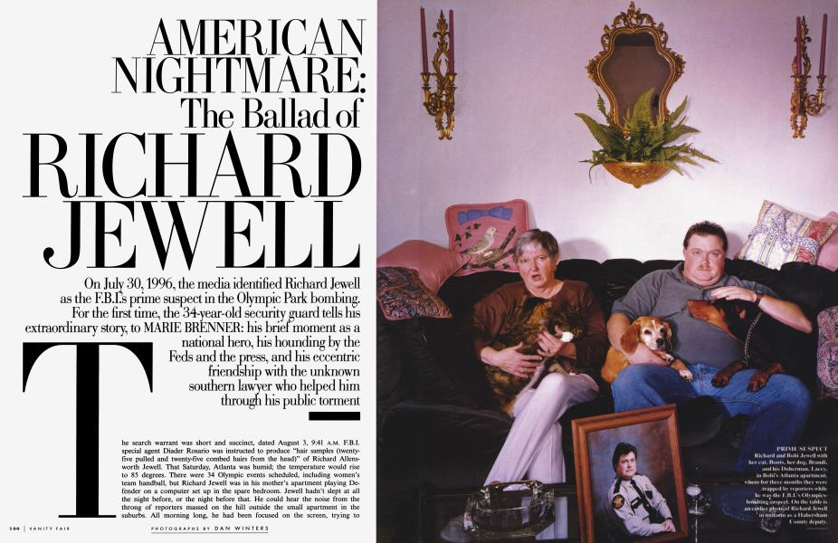 AMERICAN NIGHTMARE: The Ballad of RICHARD JEWELL | Vanity ...